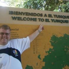 San Juan, Puerto Rico - Welcome to El Yunque