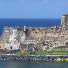Approaching San Juan.
