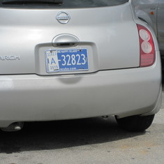 Even the liscense plates say the island is happy!