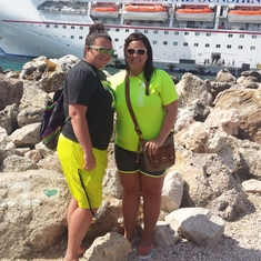 Docked at Curacao!