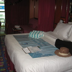 Deck 11 mid ship mini suite
