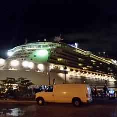 San Juan, Puerto Rico - Docked in San Juan