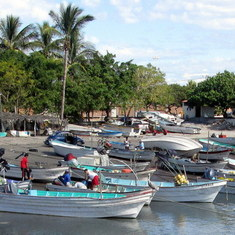 Mazatlan, Mexico - Fishing Boats