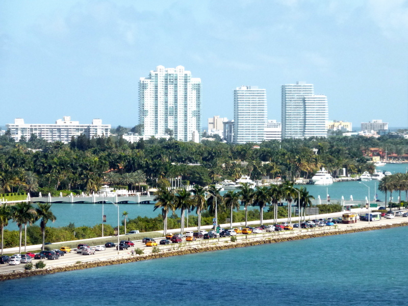 Ft Laudedale from Ship - MSC Divina
