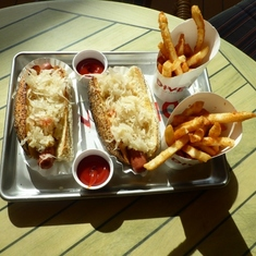 Dive-In Hot Dog Meal & Fries