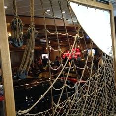 Quantum of the Seas Schooner Bar