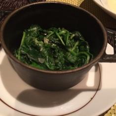 Spinach at Tuscan