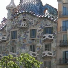 Gaudi's influence everywhere.