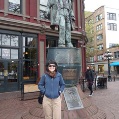 """Gassy Jack"" Statue, Gastown, Vancouver, B.C."