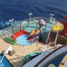 Kids pool on the Dawn