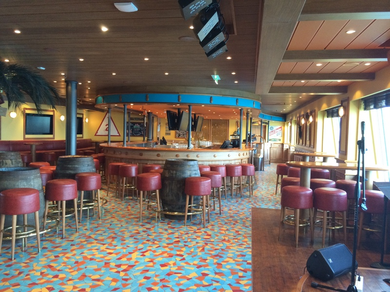 EA Sports Bar - Carnival Sunshine - Carnival Sunshine