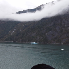 Cruise Inside Passage, Alaska - Glacier Clouds