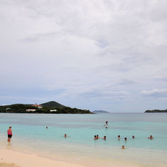 Saphirre Beach at St Thomas