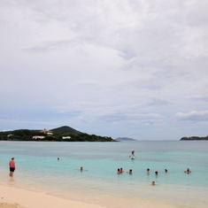 Saphirre Beach at St Thomas