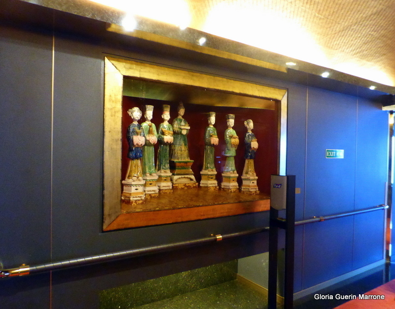 Wall Art Work between Lounges - Amsterdam