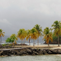 Closest Beach to the Port in Martinique