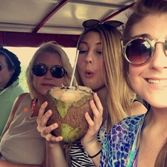 Fresh coconut water!!!