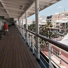 Hamilton, Bermuda - Docked in Hamilton.