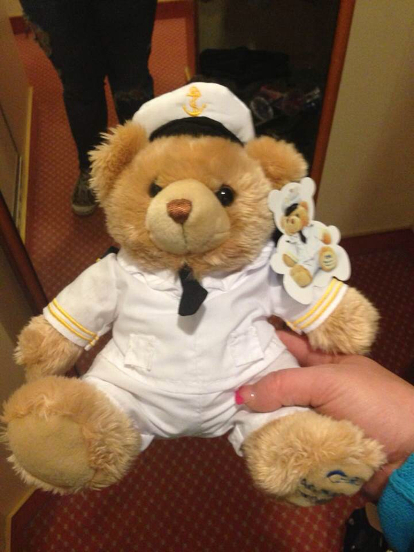 Ship Bear I Love Him - Sapphire Princess