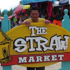 Cococay (Cruiseline's Private Island) - CocoCay Straw Market shops