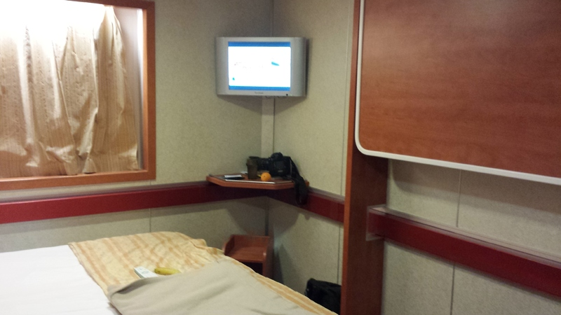 extra bed on wall, we didn't use - Carnival Inspiration