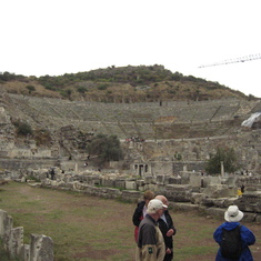 Kusadasi (Ephesus), Turkey - Ephesus Turkey--Theatre where Apostle Paul was involved in a riot.