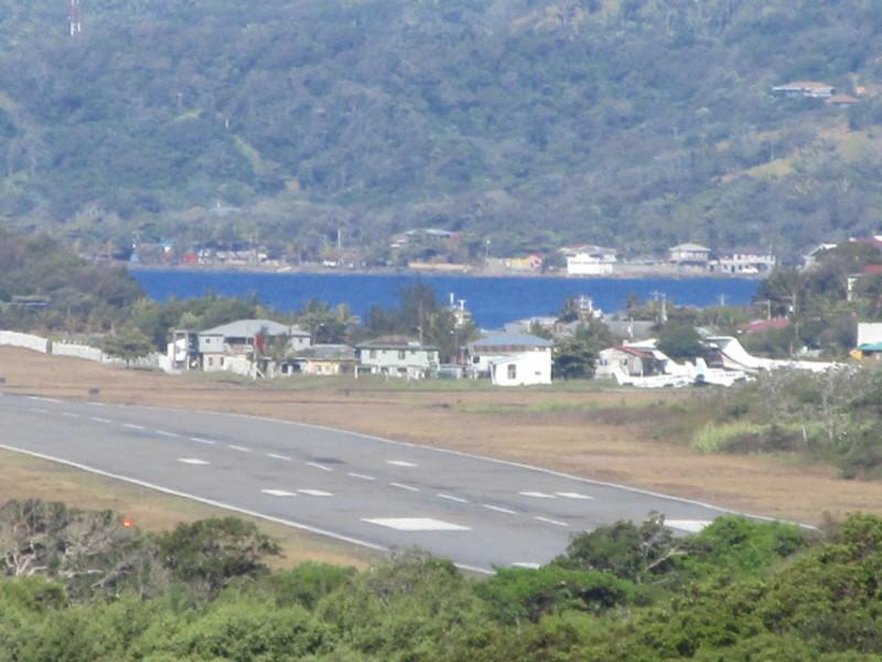Mahogany Bay, Roatan, Bay Islands, Honduras - Air strip