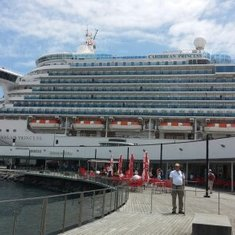 Caribbean Princess in the Azores
