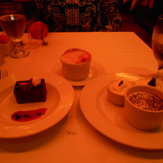 Try the Melting Chocolate Cake - YUMMY