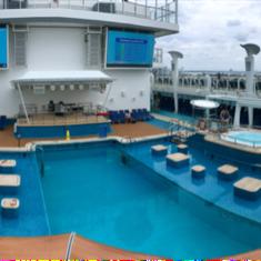 Sun Deck on Norwegian Escape