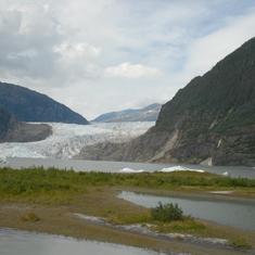 Juneau, Alaska - Glacier near Juneau