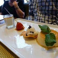 Celebrity Constellation - Dessert in Tuscan Grill