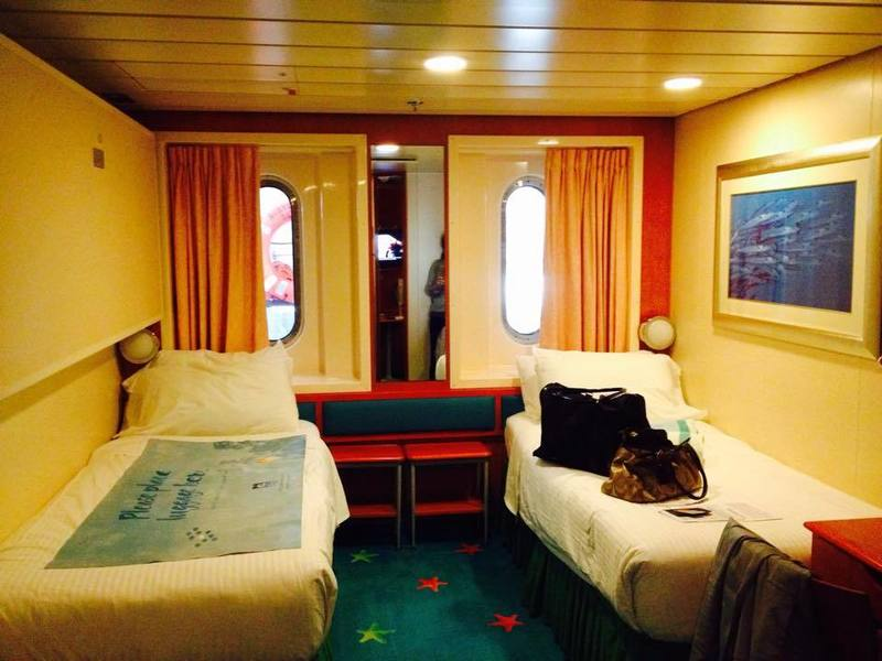Obstructed Oceanview Stateroom on Norwegian Dawn