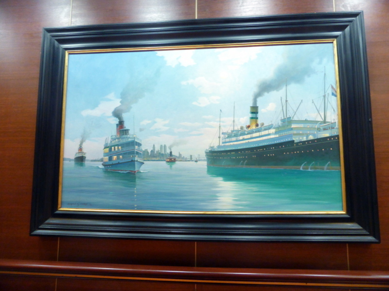 I loved all the nautical paintings - Amsterdam