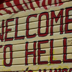 Welcome to Hell! Grand Cayman Islands