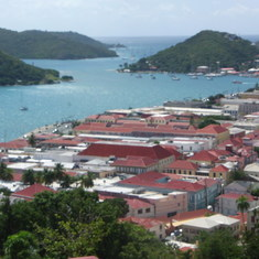 St. Thomas oceanview