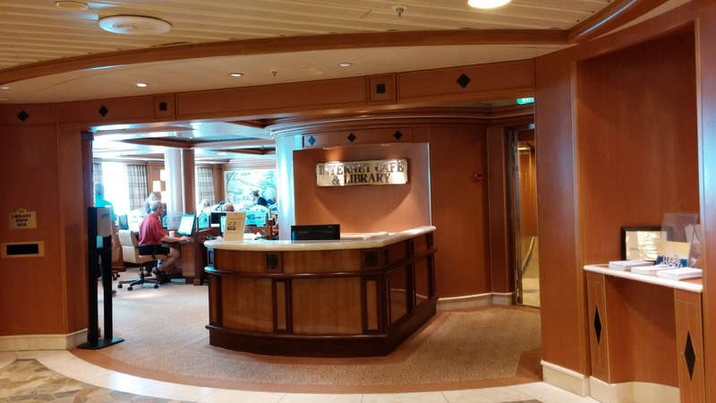 Internet Cafe - Caribbean Princess