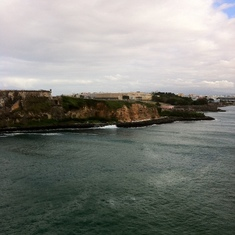 On the way in to Old San Juan