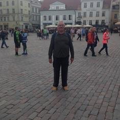 Copenhagen, Denmark - A square in Copenhagen