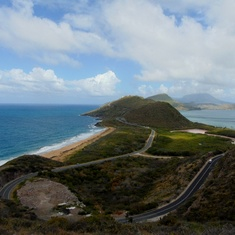 Where the Atlantic meets the Caribbean in St Kitts