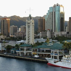 cruise on Zaandam to Hawaii