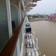 Celebrity Infinity - balcony view