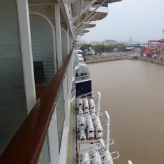 Celebrity Infinity - balcony view