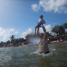 Costa Maya (Mahahual), Mexico - Super Dad