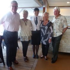 Ted, Bon, Victoria, Mary & Gary