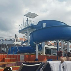 Water Works on Carnival Elation