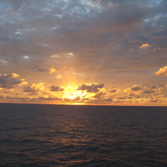 Mid Pacific, from stateroom.