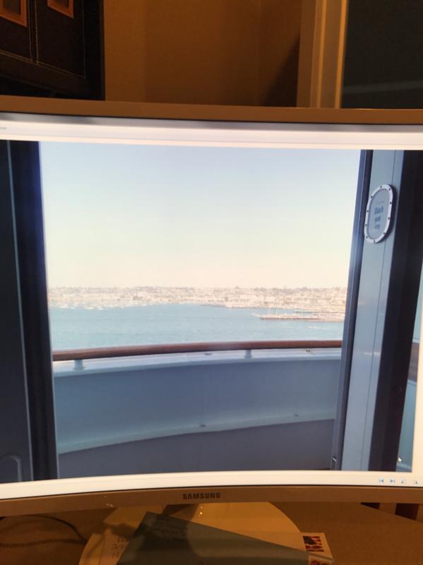 Balcony Cabin 7132 On Disney Wonder Category 6a