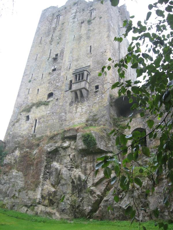 Blarney Castle, stone is on top, see folks on castle floor in previous picture.  - Royal Princess