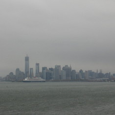 Leaving NY ust before the port is closed due to incoming Sandy